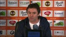 Foot - L1 - FCL : Ripoll «Les joueurs ont refusé la fatalité»