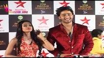 Star Parivaar Awards 2015   Red Carpet   Sonia Balani & Shaheer Hosts Red Carpet   Part 8