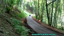 Lada Vfts Rally action, drift, crash compilation