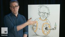 How to Draw BB-8 Sanders | Bob Draws