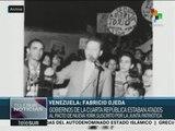 Venezuela conmemora el natalicio de Fabrizio Ojeda