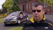 Renault Clio R3T Rally Car 2014 - Scottish Rally Preparation