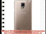 Samsung EF-NN910BEEGWW - Funda para móvil Samsung Galaxy Note 4 (Protege de los arañazos Diseño