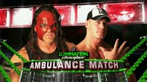 WWE Elimination Chamber 2012: John Cena vs Kane, Ambulance Match (RU)