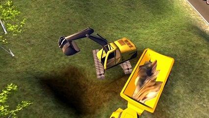 эсковатор| трактор и грузовик | игра стройка # 2