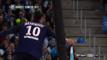Zlatan Ibrahimovic Goal - Marseille 0-1 Paris SG (Ligue 1)