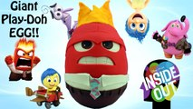 GIANT Inside Out ANGER Play Doh Surprise Egg - Inside Out Mystery Minis Inside Out Toy Console