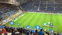 OM-PSG : un Vélodrome en délire pour l'entrée des joueurs