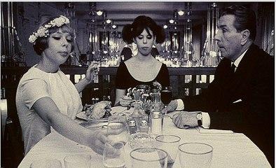 """МАРГАРИТКИ"" (реж.В.Хитилова, 1966) В ресторане."