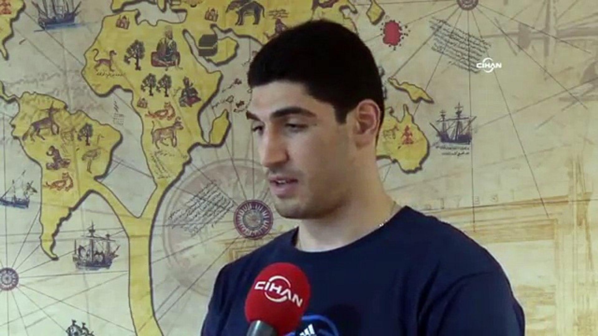 Enes Kanter: Daha önce katılamadığımız olimpiyatlara gitmek istiyoruz