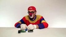 Çocuklar için eğlenceli film Palyaço Dima ve haylaz araba