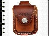 Zippo Lighter Pouch Brown with Loop - Mechero color marrón / marrón claro