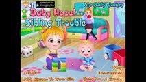 Baby Hazel Babysitting Compilation - Baby Games for Kids and Babies - Dora The Explorer