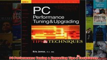 Download PDF  PC Performance Tuning  Upgrading Tips  Techniques FULL FREE