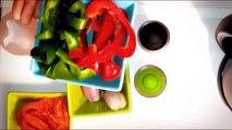 tutoriel - Tajine de poulet aux Courgette & Oignons + Salade Marocaine