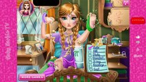 Elsa and Anna Frozen Princess Hospital Recovery, Games For Girls, Frozen Games