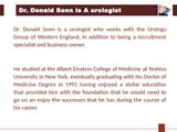 Dr. Donald Sonn - Specializations