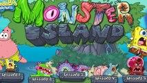 игра губка боб квадртные штаны на острове монстров чудища и спанчбоб для детей 2015