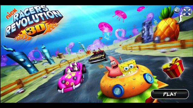 SpongeBob SquarePants - Nick Racers REVOLUTION Game
