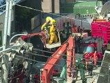 Séisme à Taïwan: deux survivants secourus, une centaine de personnes toujours ensevelies