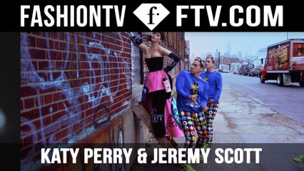 Katy Perry & Jeremy Scott - Moschino | FTV.com
