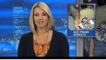 AXE ATTACK PRANK - Psycho Killer Scare Prank - Scary Murder Pranks - DmPranksProductions