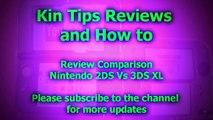 Review Comparison Nintendo 2DS vs 3DS XL LL system console Games Portable Screen Brightnes