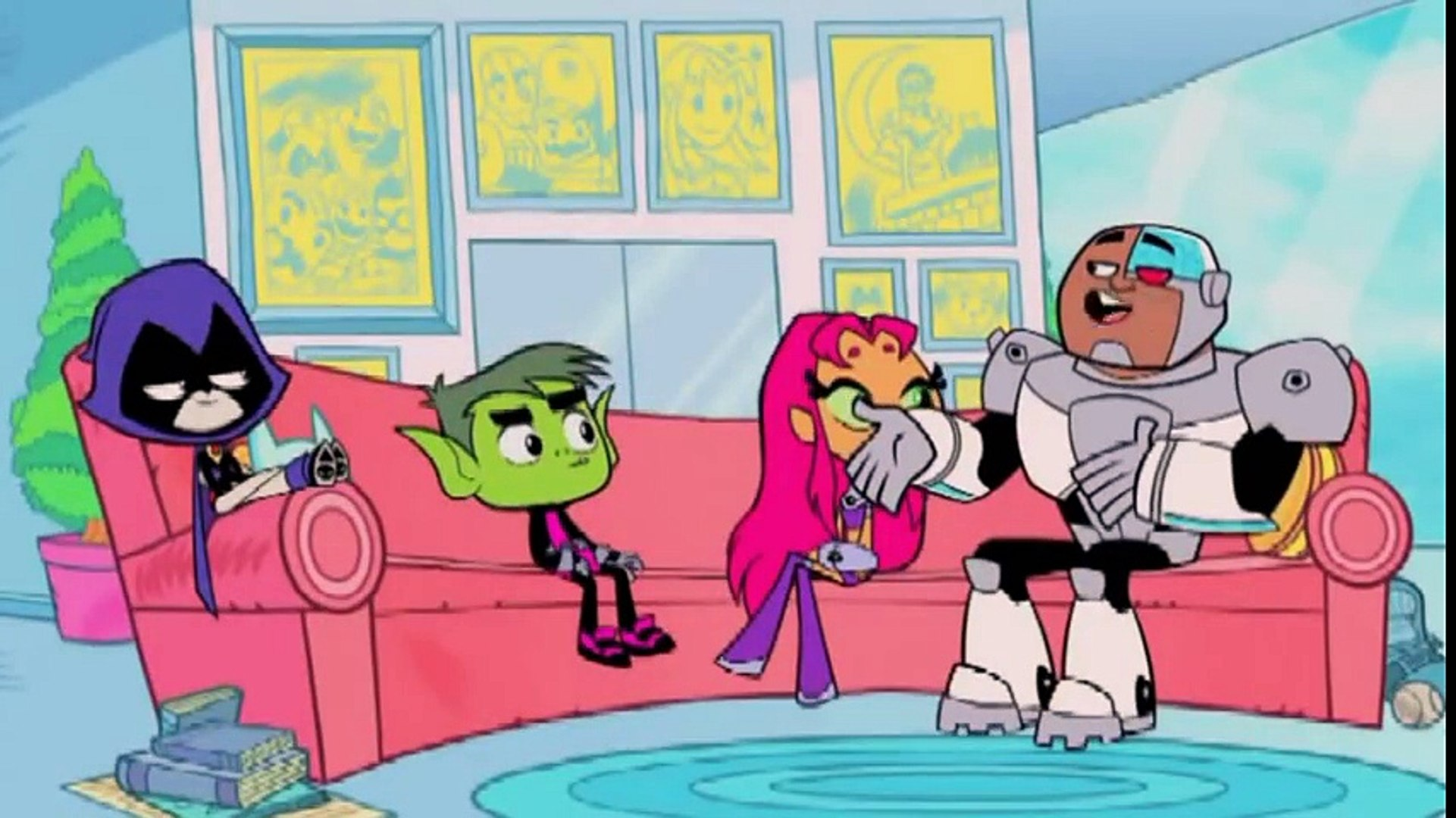 Teen Titans Animation_ Teen Titans GO _ Teen Titans part 2