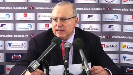 Conférence de Presse A.Weisz après SLUC / CCRB !