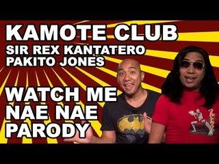Sir Rex Kantatero & Pakito Jones   PABEBE Watch Me Nae Nae PARODY