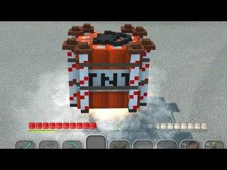 Minecraft In Real Life | The TNT Rocket