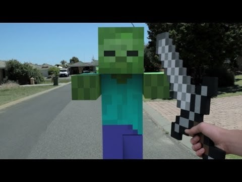 Minecraft In Real Life | First Person