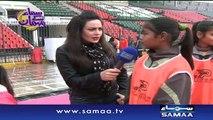 Pakistan ki womens hockey team - Samaa Kay Mehmaan - 08 Feb 2016