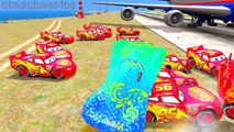 Disney cars Carla Veloso & Lightning McQueen Nursery Rhymes Childrens Songs