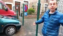 Conflit de voisinage: Claudy a placé une clôture sur son propre terrain à Montignies-sur-Sambre