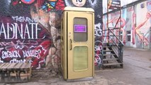 Check out the world's smallest disco inside a Berlin phone box