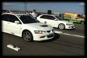 Mitsubishi Lancer EVO VIII Vs. Mitsubishi Lancer EVO VIII Drag Race