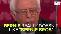 "Bernie Sanders Denounces Online ""Bernie Bros"""