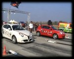 Alfa Romeo Mito Vs. Alfa Romeo Mito Drag Race