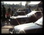 Audi 80 Coupe Quattro Turbo Vs. VW Golf III TDI Drag Race