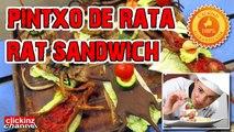 MOUSE RAT MEAT SANDWICH DISH BURGER disgusting repulsive eating rats TRADITIONAL FOOD Ratatouille Rata o Pollo PUESTO de COMIDA China RARA EXTRAÑA ASQUEROSA ARAÑAS CON VERDURA comer ratas CHINA PINCHO PINTXO COMIDA TRADICIONAL DE RATA