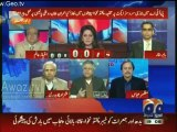 Hassan Nisar Takes Class of Ayesha Baksh when She Tries to Pose a Controversial Question on Privatization