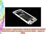 Genius Factory ® Impermeable a prueba de choques de Aluminio Gorilla Metal Funda Para Iphone