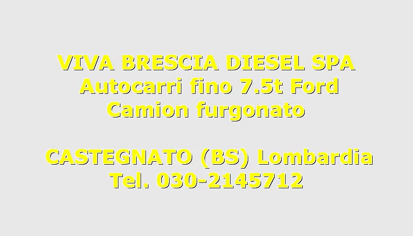 Ford FORD TRANSIT  FORD 300 Usato