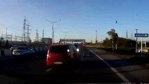 Woman Road Rage in RUSSIA!Ярость женщина дорога