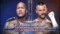 The Rock vs CM Punk Campeonato WWE | Elimination Chamber 2013 Español Latino ᴴᴰ