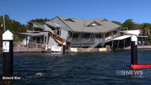 Waterfront Restaurant Partially Collapses, No Serious Injuries Reported