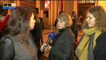 Premier jour du procès Cahuzac: des journalistes et une main sur la figure