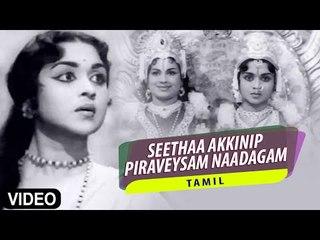 """Seethaa Akkinip Piraveysam Naadagam"" Video Song | Kalyaniyin Kanavan | Sivaji Ganesan, Sarojadevi"