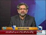 Ch Ghulam Hussain bashes Shahid Khaqan Abbasi